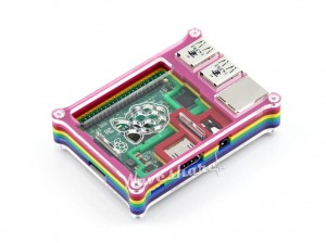 Raspberry PI 2 B Rainbow Case B