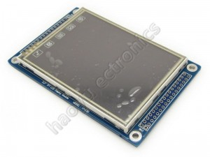 "3.2"" Touch Screen TFT LCD with 16 bit parallel interface"
